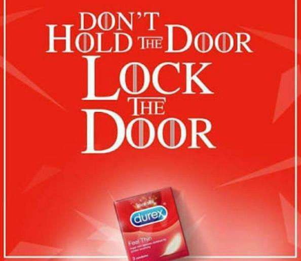 Don't Hold The Door, Lock The Door